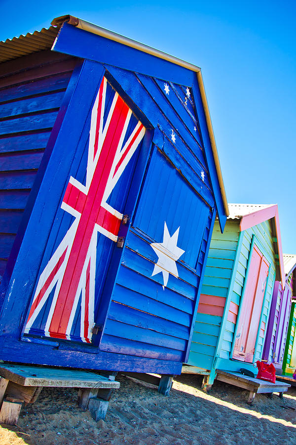 Aussie Beach Shack Photograph