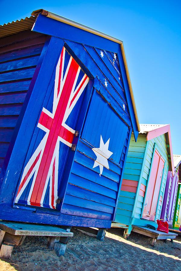 Melbourne Photograph - Aussie Beach Shack by Az Jackson