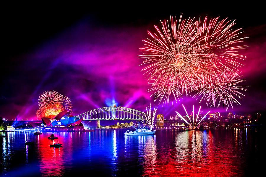 Sydney Photograph - Aussie Celebrations by Az Jackson