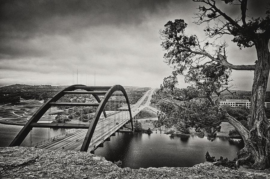 360 Bridge Photograph - Austin 360 Bridge In Early Dawn by Lisa  Spencer