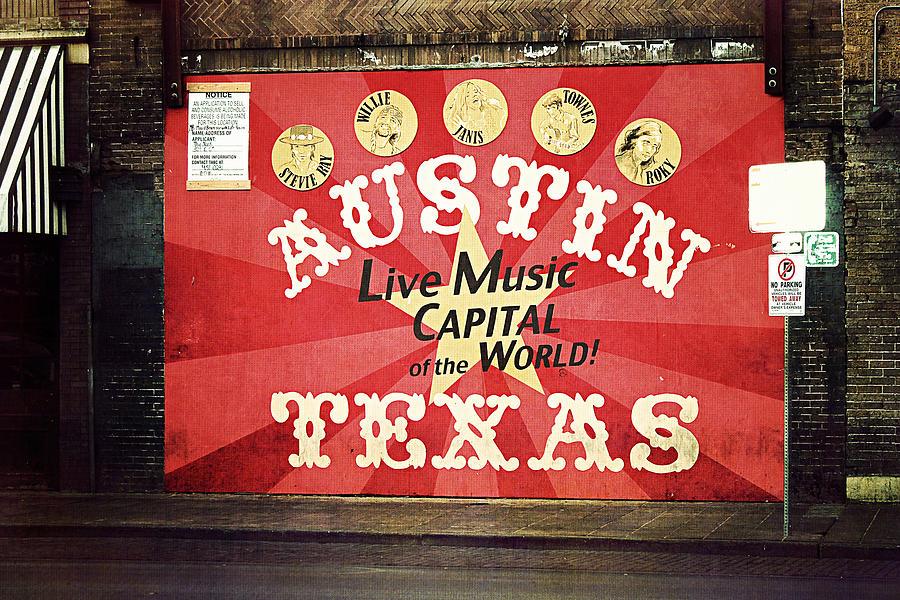 Austin Photograph - Austin Live Music by Trish Mistric
