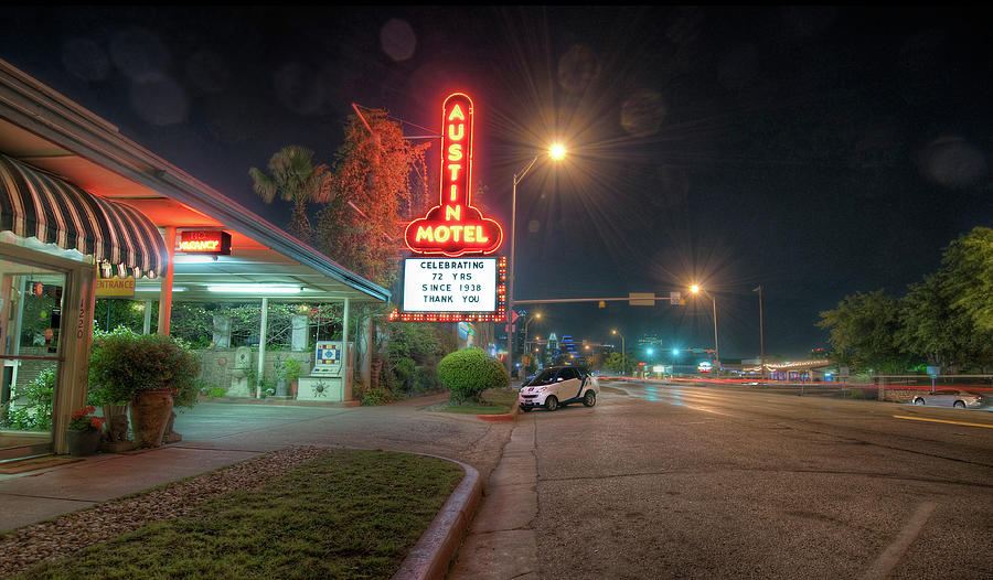Austin Motel by John Maffei