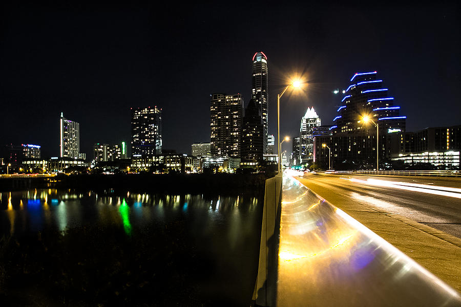 Austin Photograph - Austin Skyline by Amber Dopita