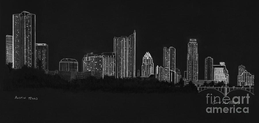 Austin Skyline by Carol Morris