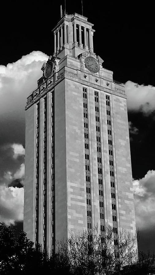 University Of Texas Tower Photograph - Austin, Texas by Kevin Brennan