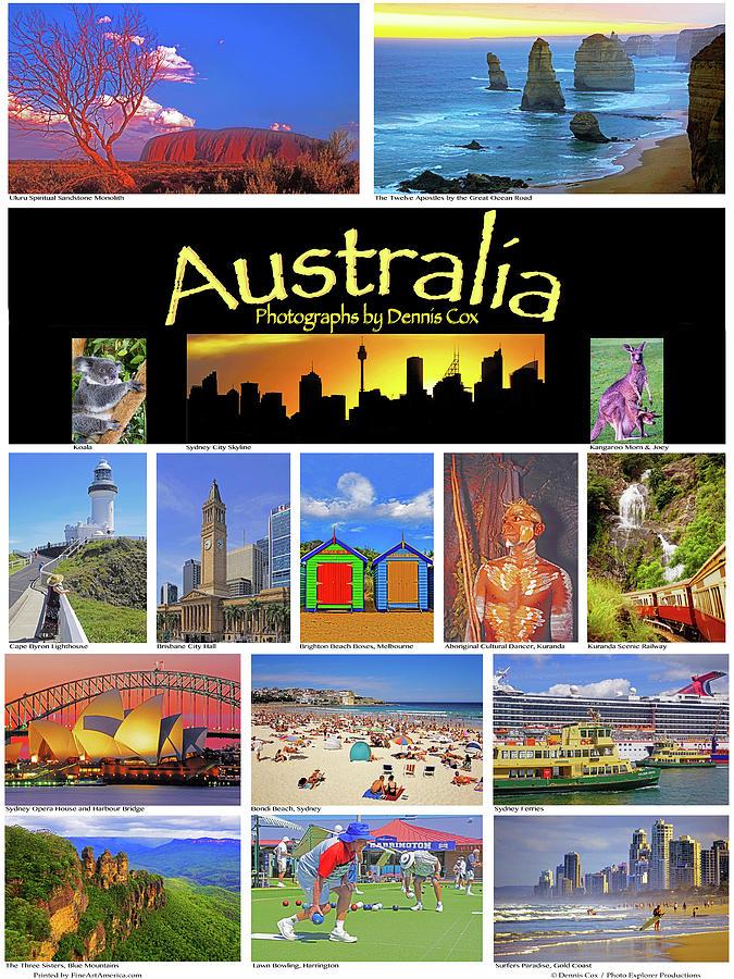 Australia Poster Photograph