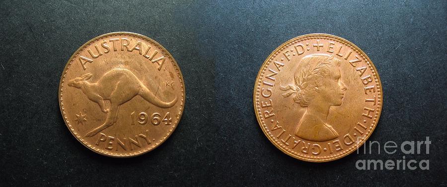 Australian Coins  by Geoff Childs