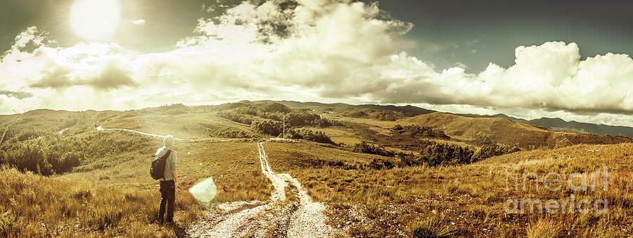 Landscape Photograph - Australian Rural Panoramic Landscape by Jorgo Photography - Wall Art Gallery
