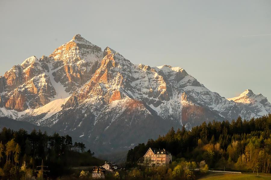 Austria Photograph - Austrian Sunrise by Denise Darby