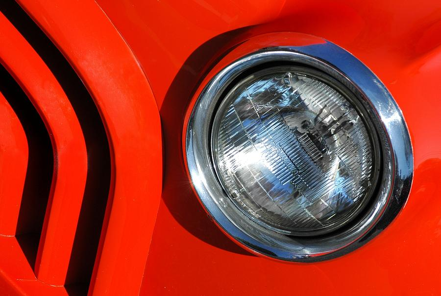 Car Photograph - Auto Abstract by Dan Holm
