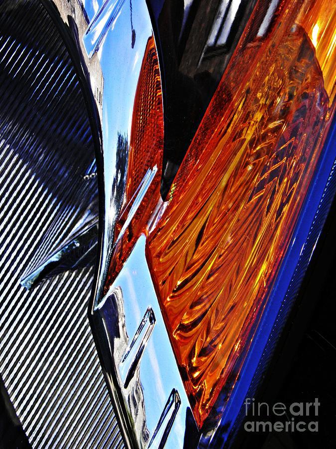 Auto Headlight 31 Photograph