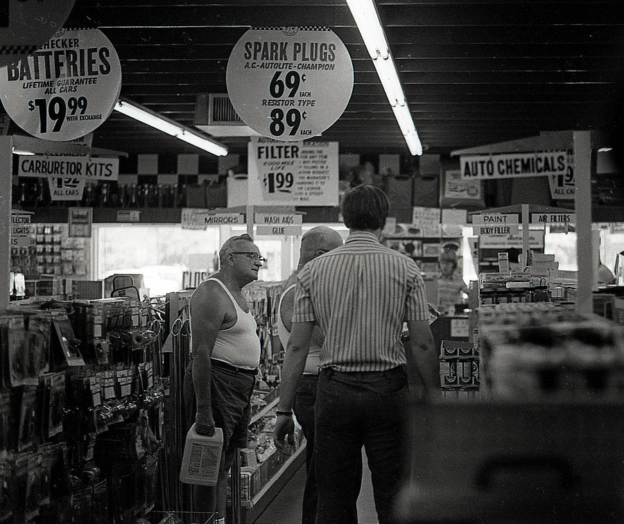 Auto-Parts Store, 1972 by Jeremy Butler