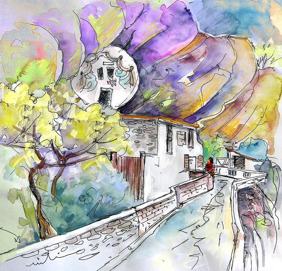 La Rioja Painting - Autol In La Rioja Spain 03 by Miki De Goodaboom