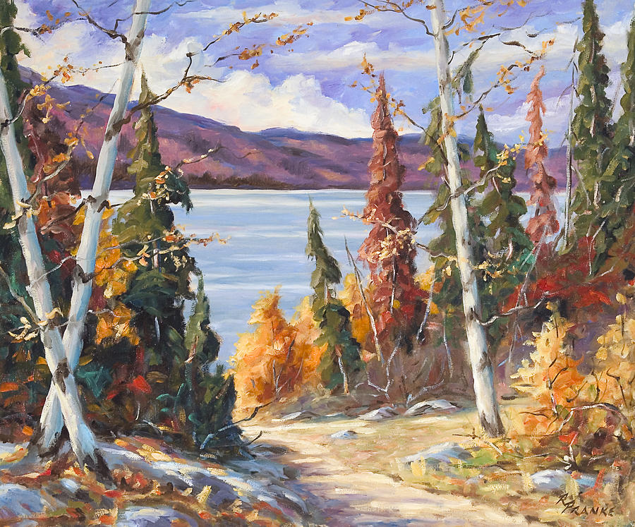 Painting Painting - Automn Colors by Richard T Pranke