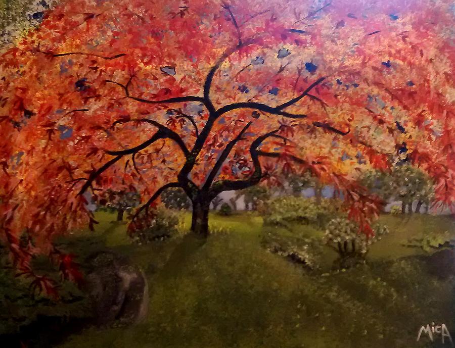 Autumn Painting - Autonium by Michelle Audas