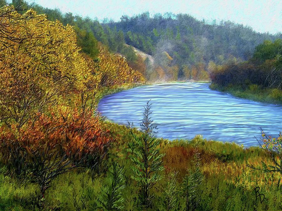 Autumn Along the Elkhorn by Ric Darrell