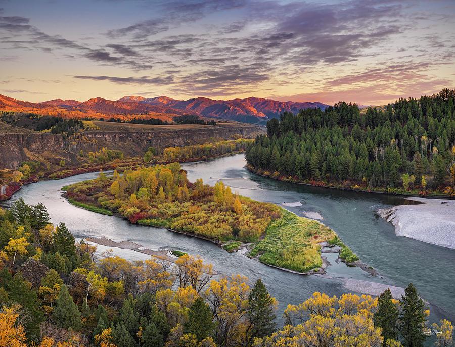 Autumn Photograph - Autumn Along The Snake River by Leland D Howard
