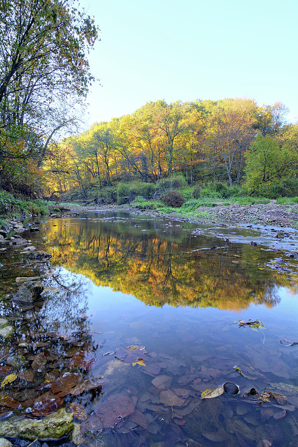 River Photograph - Autumn At Brush 2 by Bonfire Photography