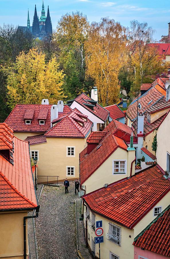 novy svet  Autumn At Novy Svet Streets. Prague Photograph by Jenny Rainbow
