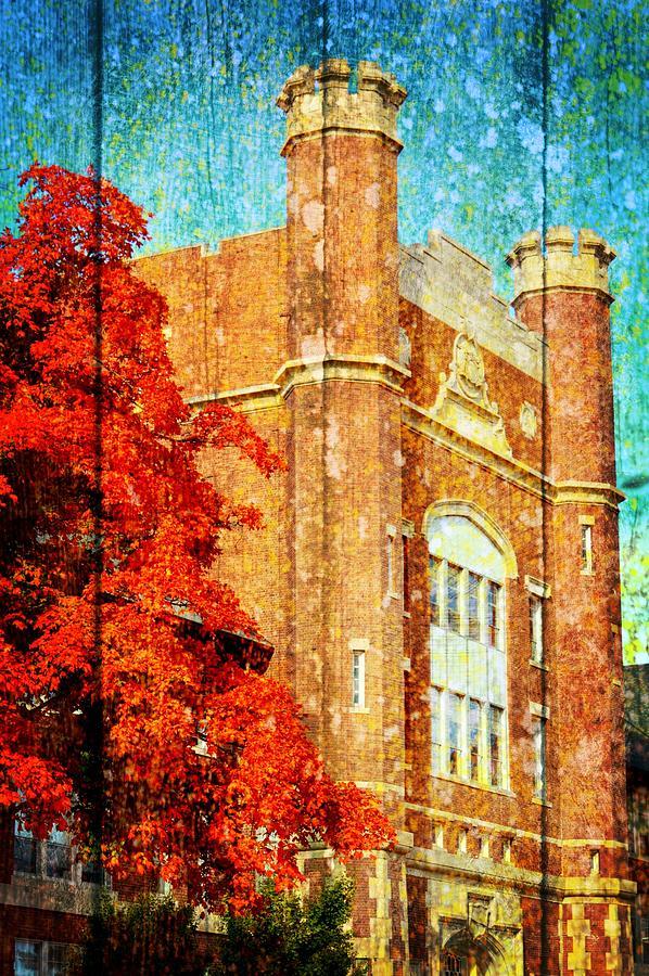 Northwest Missouri State University Photograph - Autumn At Nwmsu by Kim Blaylock