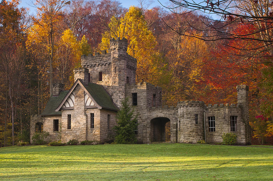 Autumn At Squire S Castle 1 Photograph By At Lands End