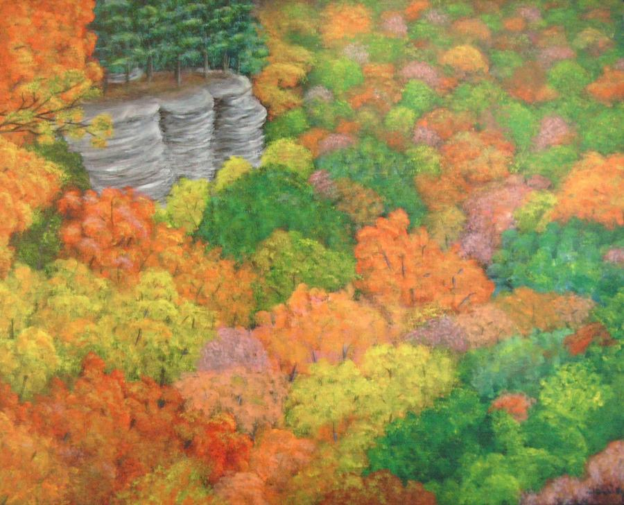 Autumn Painting - Autumn Beauty by Hollie Leffel