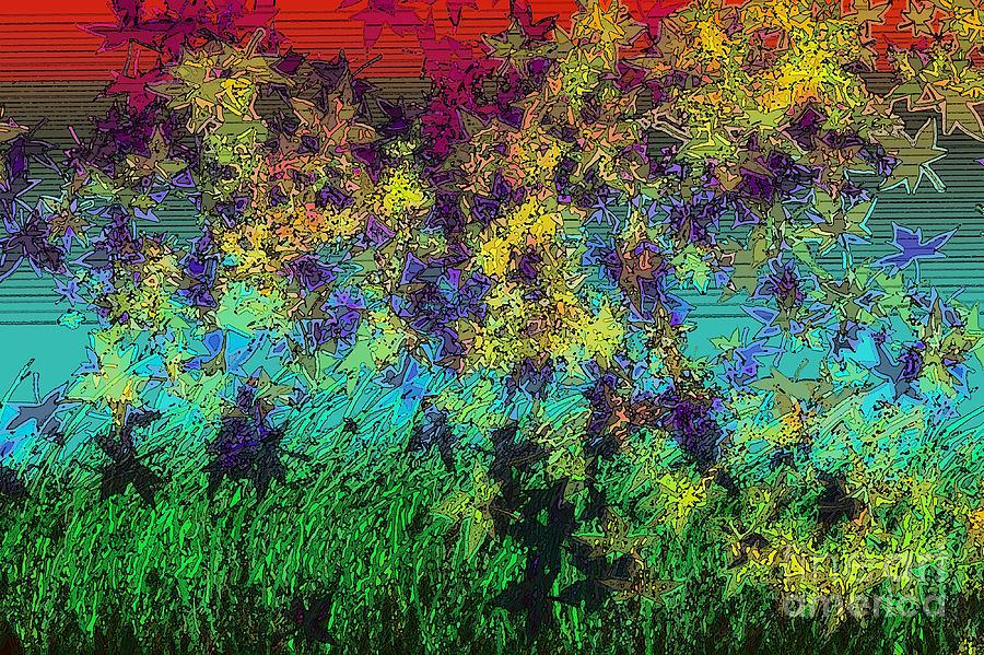 Breeze Digital Art - Autumn Breeze by Patrick Guidato