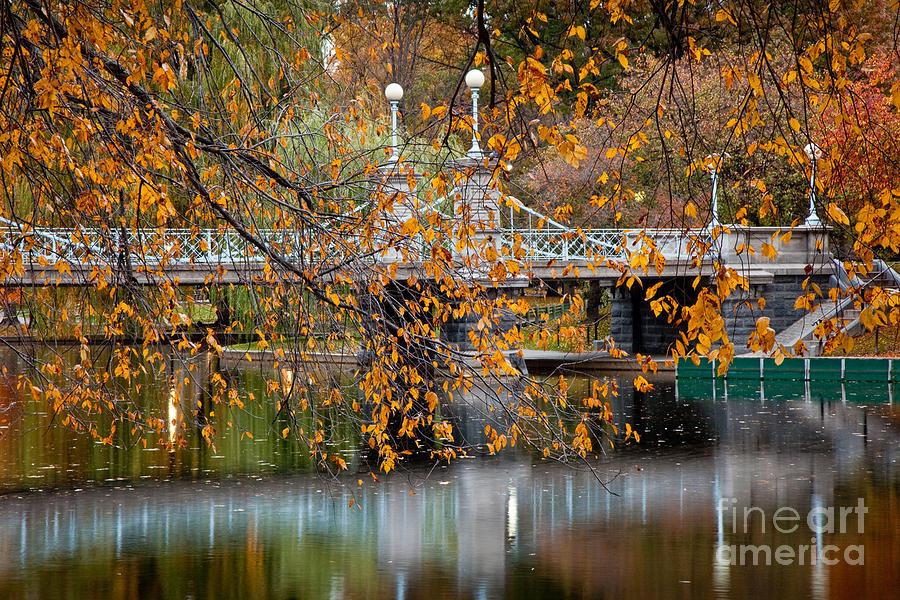 Autumn Photograph - Autumn Bridge by Susan Cole Kelly