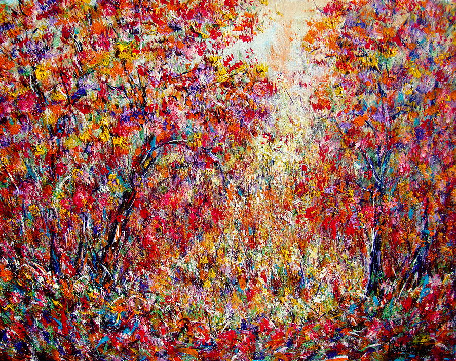 Nature Painting - Autumn Brilliance by Natalie Holland