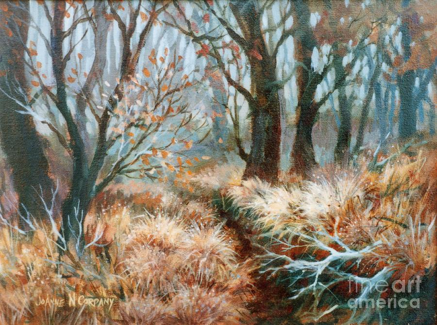 Autumn Painting - Autumn Brush by JoAnne Corpany
