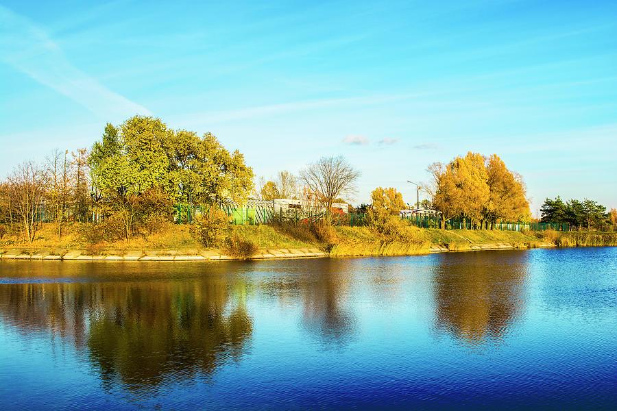 Autumn Photograph - Autumn colors by Konstantin Bibikov
