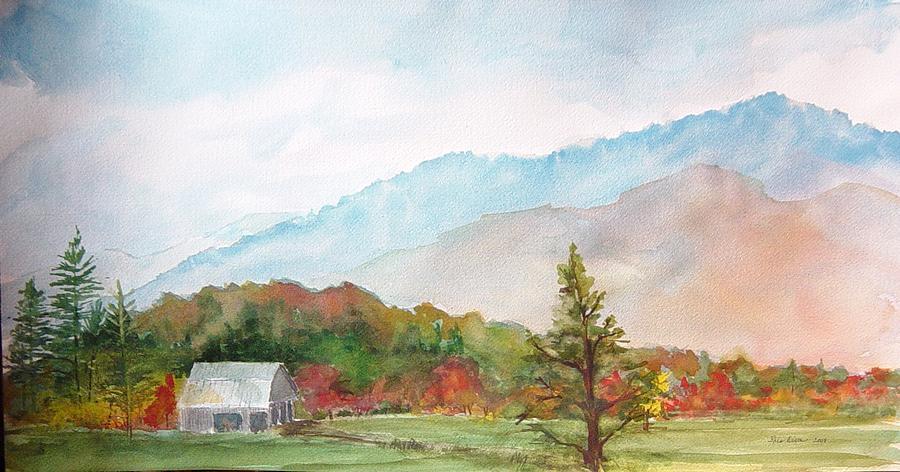 Fall Colors Painting - Autumn Colors by Kris Dixon