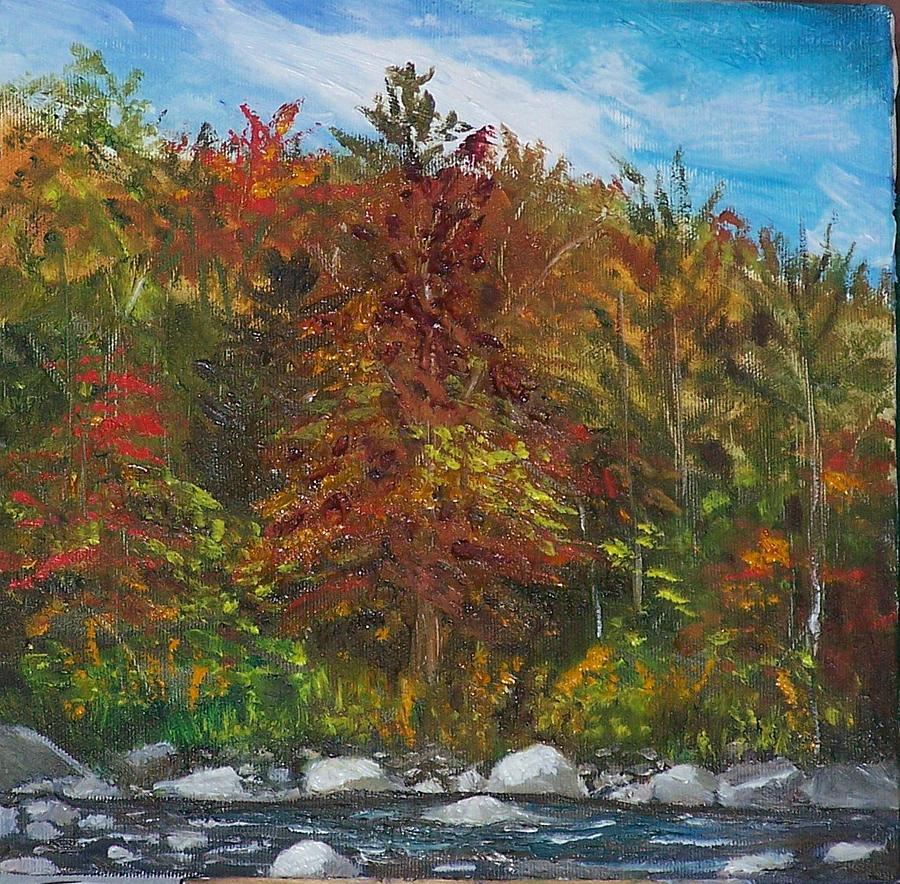 Autumn Painting - Autumn Colors by Pamela Wilson