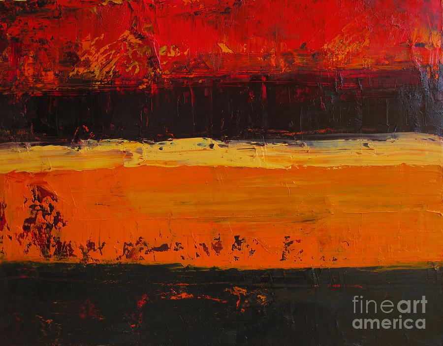 Abstract Painting Painting - Autumn Day by Patricia Awapara