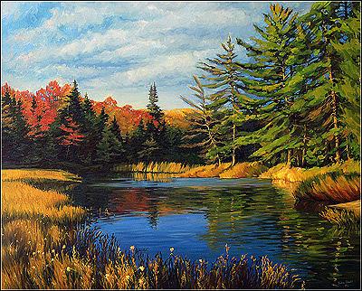 Autumn Painting - Autumn by Dmitry Oivadis