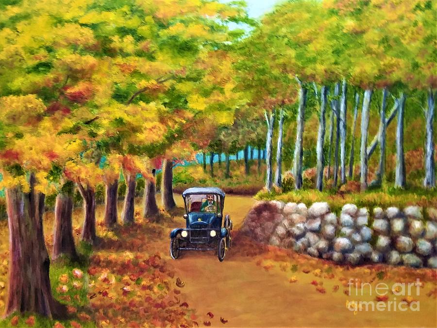 Autumn Drive by Olga Silverman