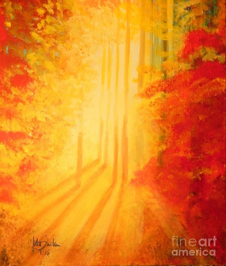 Autumn Evening by Jolanta Shiloni
