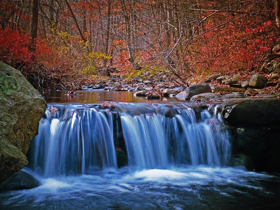 Autumn Photograph - Autumn Falls by Jim DeLillo