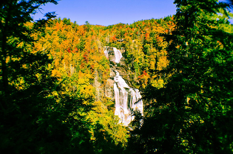 White Water Falls Photograph - Autumn Falls by Tom Zukauskas