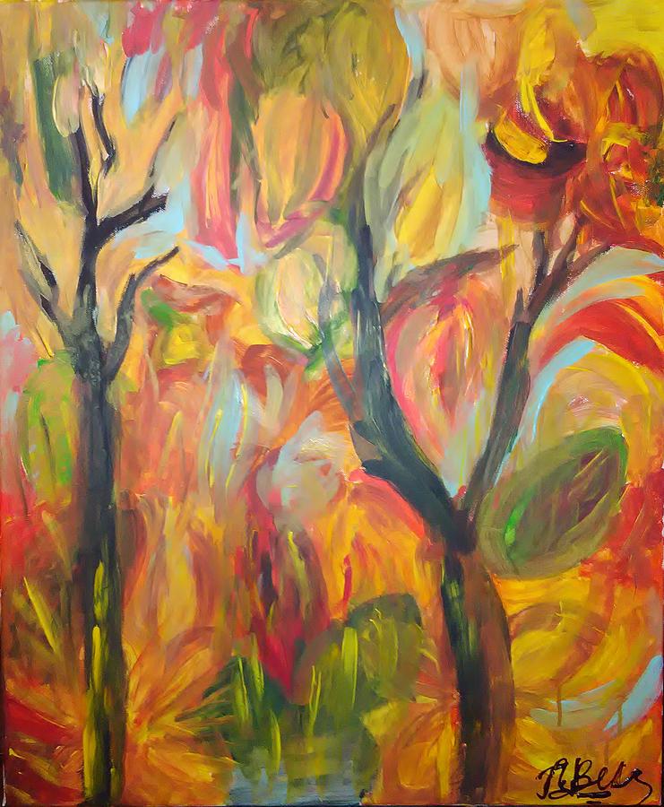 Autumn Painting - Autumn Feeling by Galya Velkova