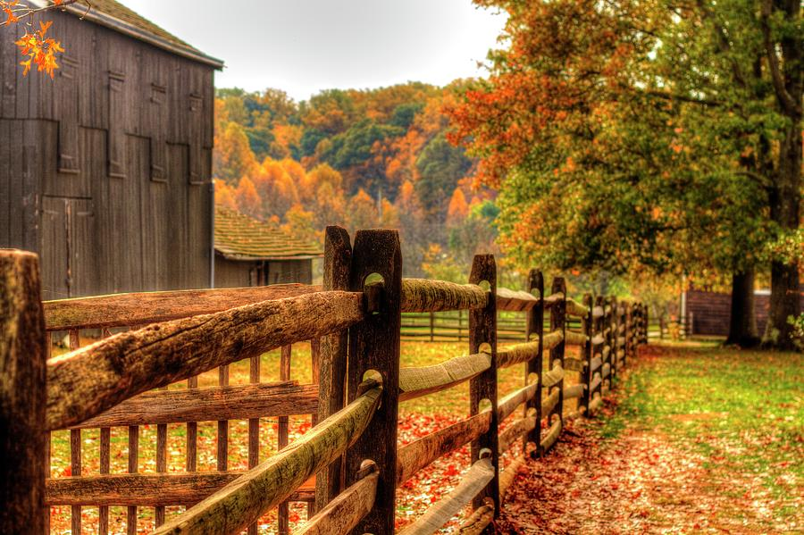 Image result for autumn fence