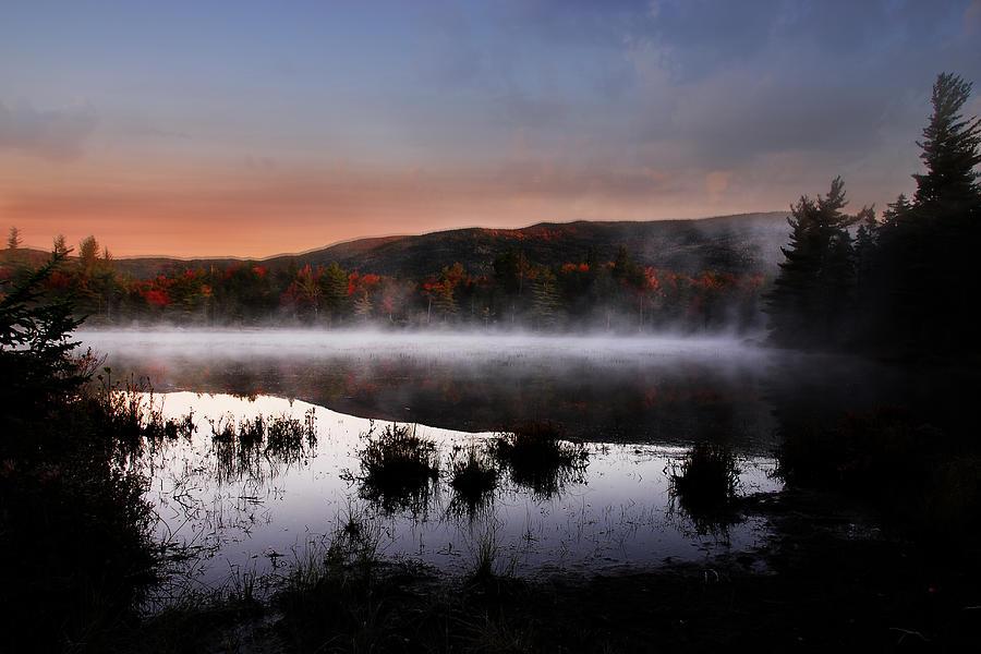 Autumn Photograph - Autumn Fog by William Carroll