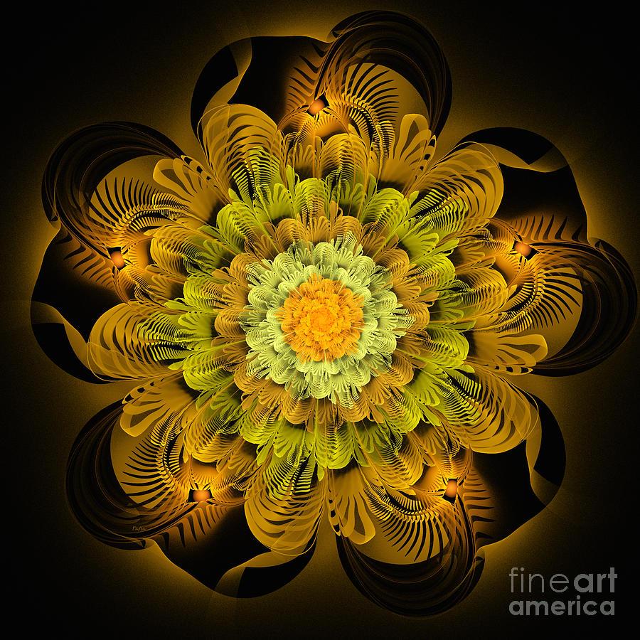 Abstract Digital Art - Autumn Gift. B by Galina Lavrova