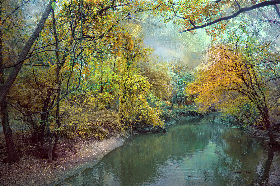 Scenic Photograph - Autumn Glory by John Rivera