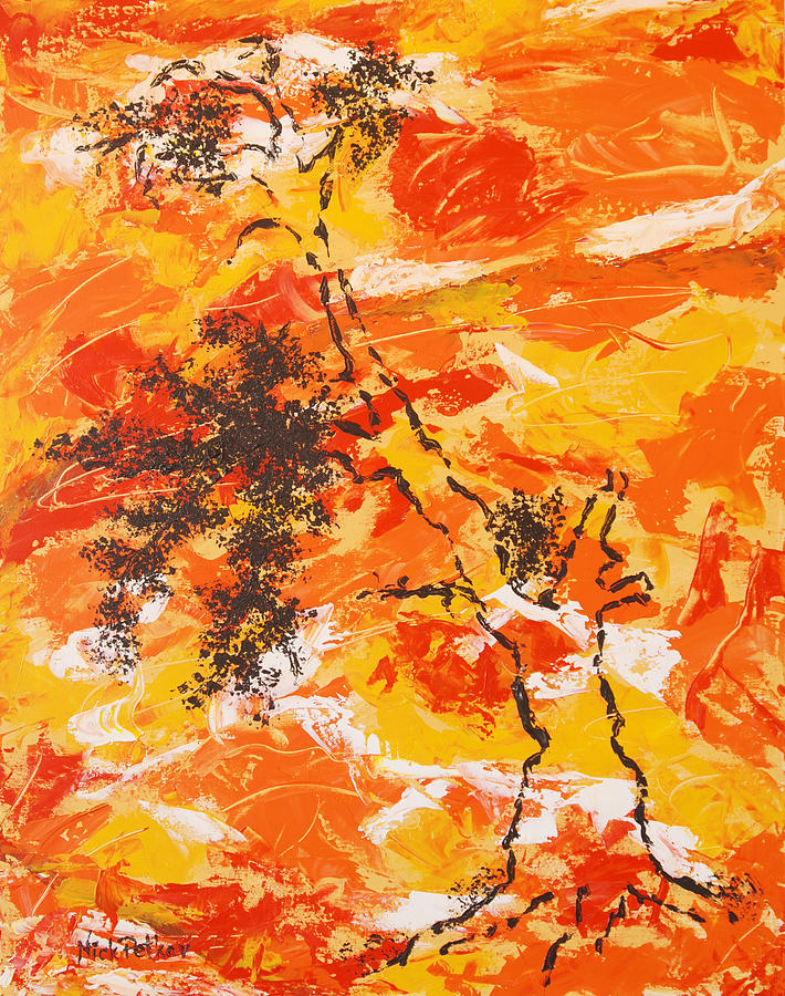 Autumn Painting - Autumn Glory by Nick Petkov