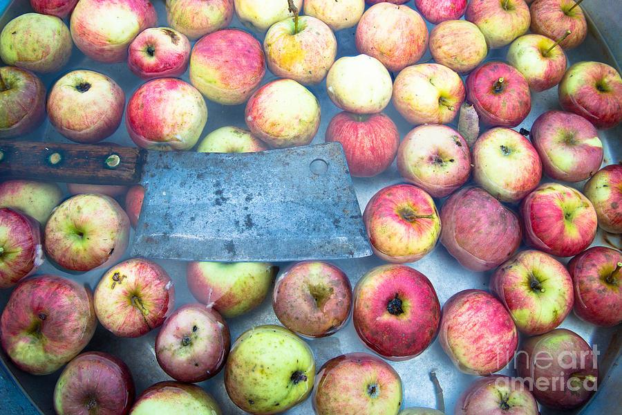 Autumn Harvest of Apples by Glenn Gordon
