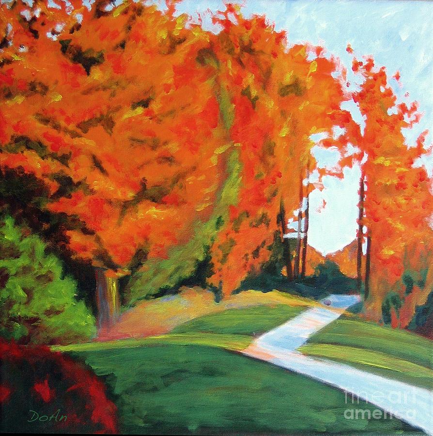 Autumn Hill by Antony Galbraith