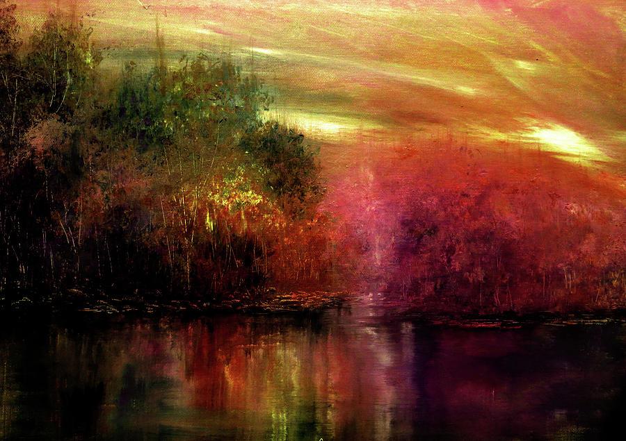 Autumn Painting - Autumn Hues by Ann Marie Bone