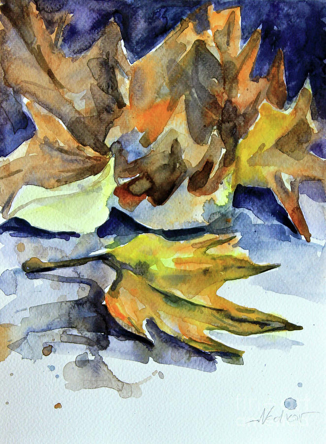 Autumn II Painting by Nedko  Nedkov