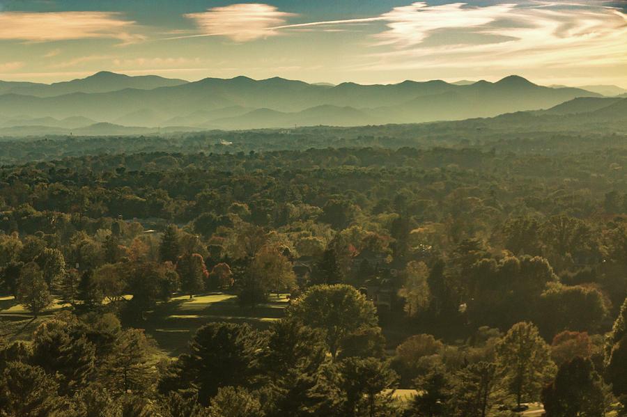 Asheville Photograph - Autumn In Ashville, Nc by Richard Goldman